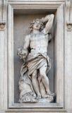 saint sebastian Royaltyfri Fotografi
