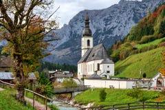 Saint Sebastian in Berchtesgaden Stock Image