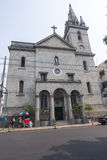 Saint Sebastian Church in Manaus, Amazonas Stock Image