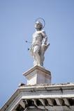 Saint Sebastian statue, Venice Stock Photo