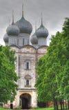 Saint Sergy Radonezhsky Orthodox church Royalty Free Stock Photos