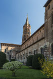 Saint-Sernin church, Toulouse Royalty Free Stock Photos