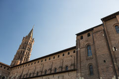 Saint-Sernin church, Toulouse Stock Photos