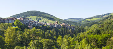 Saint-Sernin-sur-Rance Stock Images