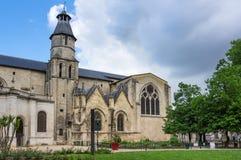 Saint-Seurin Basilica Royalty Free Stock Image