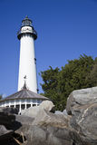 Saint Simons Lighthouse Royalty Free Stock Photos