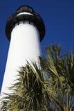 Saint Simons Lighthouse in Georgia Royalty Free Stock Photos