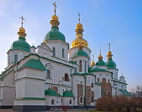 Saint Sofia cathedral (Kiev) Stock Photos