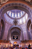 The Saint Sofia church indoor landscape Stock Photo