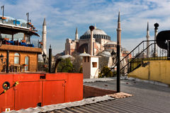 Saint Sofia from a Roof Stock Image