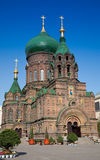Saint-Sophia Cathedral Stock Images