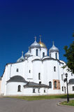 Saint Sophia cathedral against the blue sky Royalty Free Stock Photo