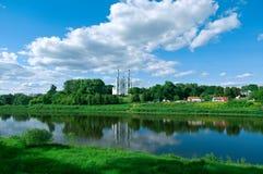 Saint Sophia Cathedral church. Polotsk city, Belorussia Royalty Free Stock Photos