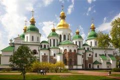 Saint Sophia Cathedral em Kiev. Ucrânia Foto de Stock Royalty Free