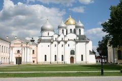 Saint Sophia cathedral in Great Novgorod Royalty Free Stock Photo