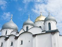 Saint Sophia cathedral  of Great Novgorod Russia Royalty Free Stock Photography