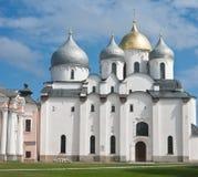 Saint Sophia cathedral  of Great Novgorod Russia Stock Photos