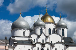 Saint Sophia cathedral in Great Novgorod Russia Royalty Free Stock Image