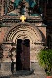 Saint Sophia Cathedral in Harbin. Sophia church square, Harbin, China, sacred religion Stock Photos