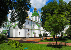 Saint Sophia Cathedral in Kiev Royalty Free Stock Photo