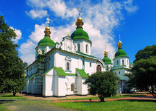 Saint Sophia Cathedral in Kiev Stock Images