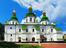 Saint Sophia Cathedral in Kiev Stock Image