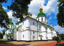 Saint Sophia Cathedral in Kiev Royalty Free Stock Images