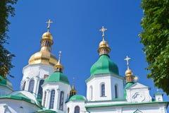 Saint Sophia Cathedral in Kiev. Ukraine in summer day Stock Photography