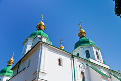 Saint Sophia Cathedral in Kiev. Ukraine in summer day Royalty Free Stock Photography