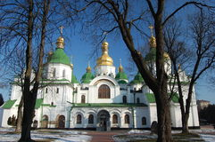 Saint Sophia Cathedral in Kiev, Stock Images