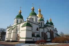 Saint Sophia Cathedral in Kiev, Royalty Free Stock Images