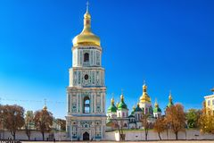 Saint Sophia Cathedral in Kiev. Ukraine royalty free stock photography