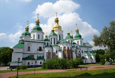 Saint Sophia Cathedral in Kiev Royalty Free Stock Photos