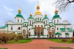 Saint Sophia Cathedral in Kiev, Ukraine. Stock Image