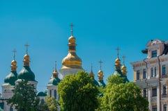 Saint Sophia Cathedral in Kiev. Ukraine, Europe Stock Photography