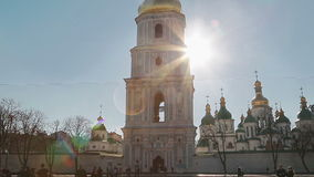 Saint Sophia Cathedral stock video footage