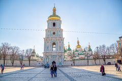 Saint Sophia Cathedral Royalty Free Stock Photo