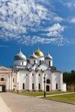 Saint Sophia cathedral in Kremlin, Great Novgorod, Stock Image