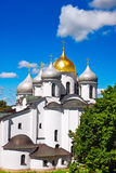 Saint Sophia Cathedral. In Kremlin of Great Novgorod Russia Royalty Free Stock Photography