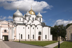 Saint Sophia cathedral in Kremlin Stock Photo