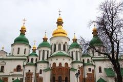 Saint Sophia Cathedral in Kyiv. Saint Sophia (Sofievskiy) Cathedral, Kyiv, Ukraine Royalty Free Stock Photography