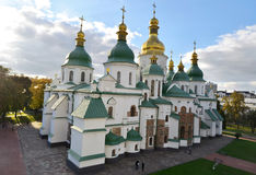 Saint Sophia Cathedral in Kyiv, Ukraine. Saint Sophia Cathedral and preserve in Kyiv, Ukraine Royalty Free Stock Photo