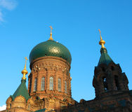 Saint-Sophia Cathedral Stock Photo