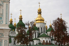 The Saint Sophia cathedral. Museum in Kiev Stock Image