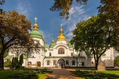 Saint Sophia Cathedral no século XI de Kiev Fotos de Stock Royalty Free