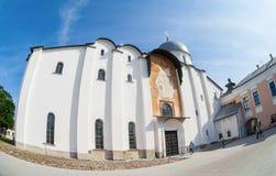 Saint Sophia Cathedral at Novgorod Kremlin Stock Photo