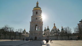 Saint Sophia Cathedral at sunset Stock Photo