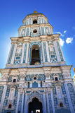 Saint Sophia Cathedral Tower Sofiyskaya Square Kiev Ukraine Royalty Free Stock Photography