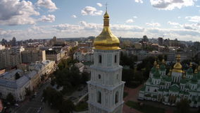 Saint Sophia Cathedral, Ukraine stock footage