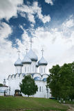 Saint Sophia Cathedral in Vologda. City Royalty Free Stock Photography